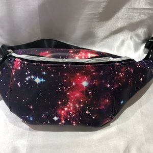 Hot topic galaxy fanny pack